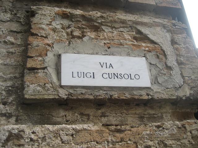 Via Luigi Cunsolo Stilo insegna