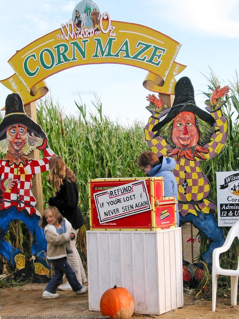 Corn Maze Long Island Ny 20031018 G2 01848 See Ming
