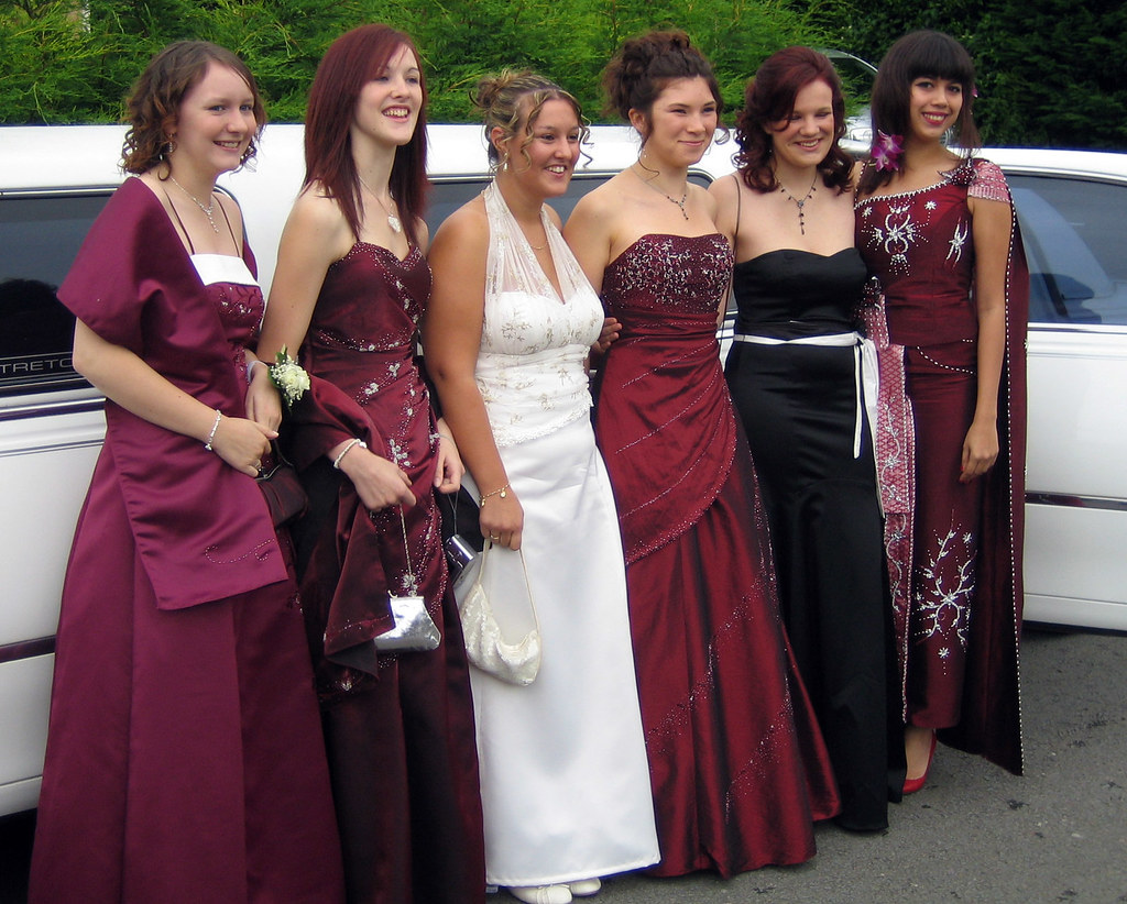 Prom   May and friends off to the school prom   Ian Martin   Flickr