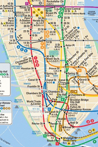 Subway Map In Manhatten.Iphone Nyc Subway Map Lower Third Of Manhattan Joannou Ng Flickr
