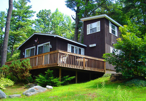 life new york trees usa lake ny color green nature beautiful america butterfly cabin rocks with view chairs great cottage lawn railing sacandaga broadalbin