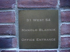 Manolo Blahnik (Shopping in the 54th St - New York) | by scalleja