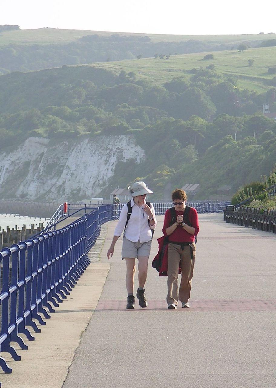 Book 2, Walk 27, Berwick to Eastbourne 6 Eastbourne Promenade, 7 July '07