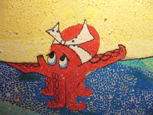 Wall art from the Sushi bar Ki-Mama (L1 closeup) | by nitro2k01 (Gameboy Genius)