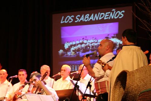 Actuación de Los Sabandeños