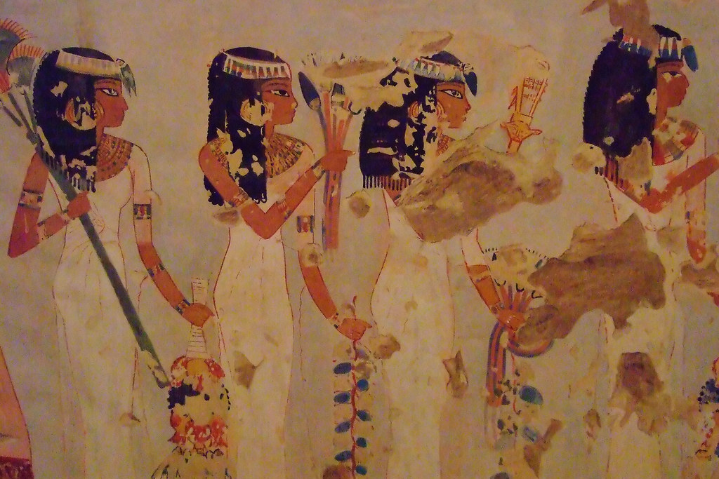 Ancient Egyptian Murals at the Metropolitan Museum of Art in New York (1)