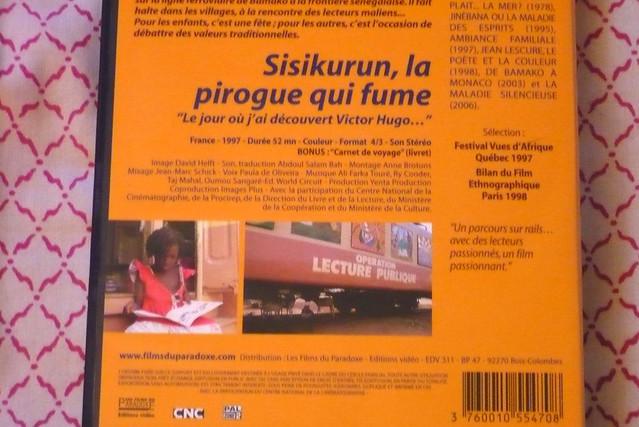 28 septembre 2007 Un wagon-bibliothèque au Mali
