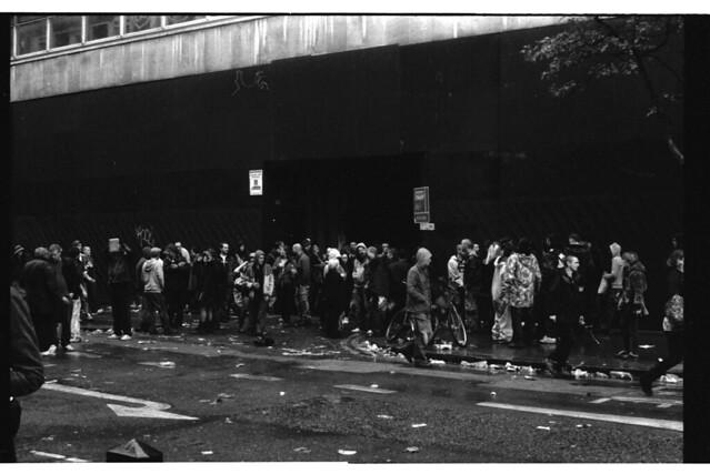 Scumoween // Illegal Squat Rave, Central London. 2010