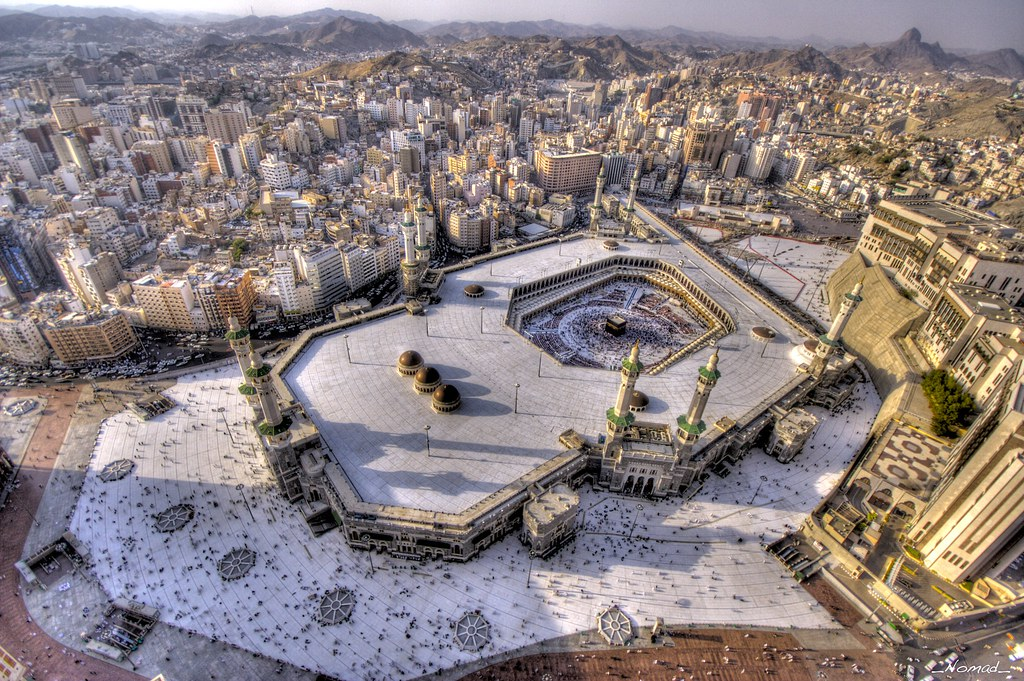 Mekkah's Great Mosque...  (HDRi) by Nomad Saleh