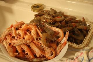 Prawns & Crawfish for Spaghetti allo Scoglio   by MsAdventuresinItaly
