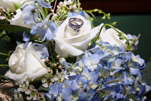 flowers & rings | by ChristyInsDesign