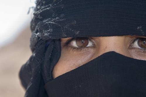 Woman in Desert near Sharm el Sheik | by DavidDennisPhotos.com