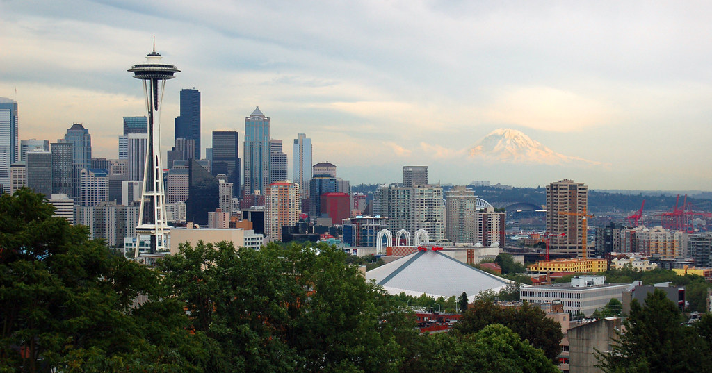 Seattle - Kerry Park Skyline View | This is the often-photog… | Flickr