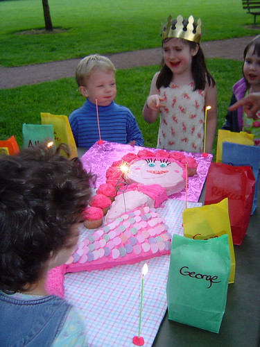 I didn't get to blow out any candles