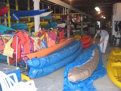 mmm...  Virgin kayaks...