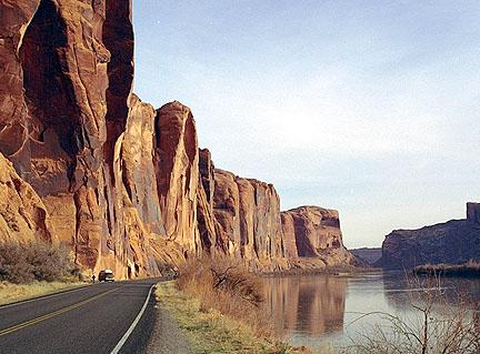 Colorado river where I swam