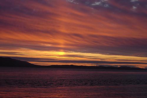greatsky holiday landscape loch lochewe londubh poolewe red scotland sky summer sunset westerross