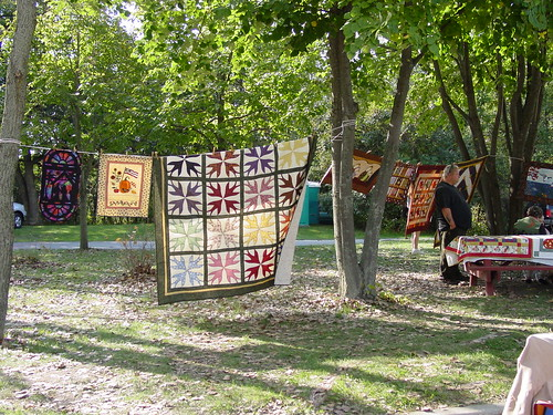 Quilts Seen at a Fall Festival