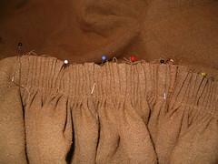 hood pleats