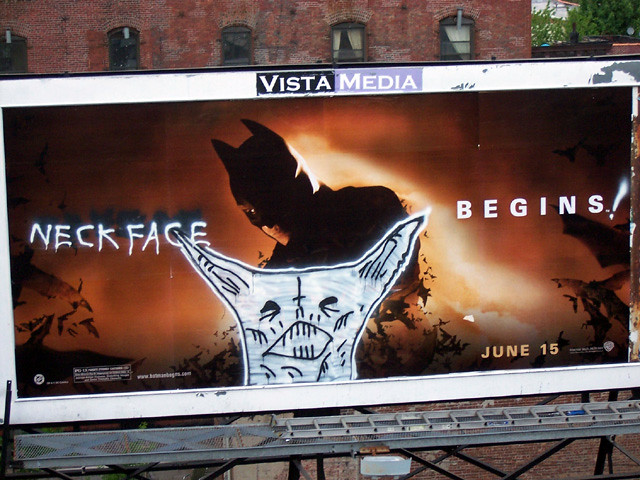neckface graffiti billboard