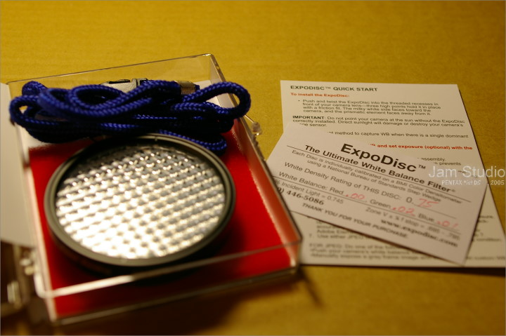 [勸敗測試] 高敗家指數的自訂白平衡工具 - EXPODISC