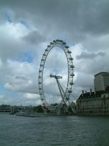 Londres, ceu cinzento