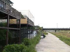 Kamo River @Kyoto