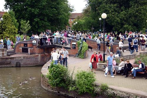 Stratford-upon-Avon Crowds