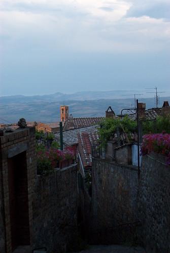 Sunset in Montalcino