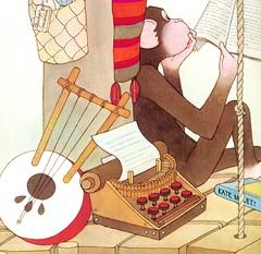 bonoba leyendo