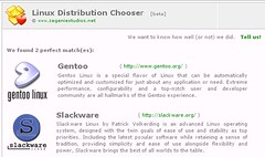 Linux Distro Chooser