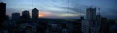Around BA - 49 - Sunrise Rio Plata pano (Large)