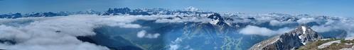 panoramique Mt Blanc