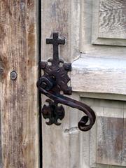 Mission Door Cross Latch