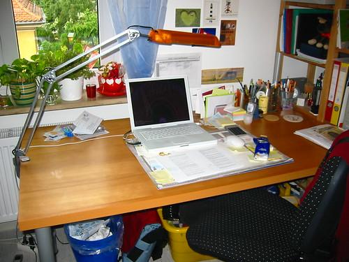 Oh Schreibtisch, Du so leer...