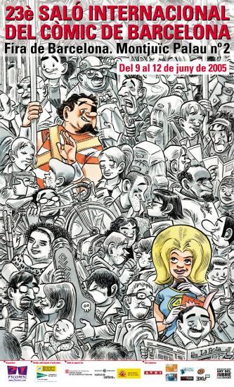 Cartel del Salon del Comic