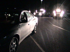 012003 - Explorers - High Risk Traffic Stop Training - View from Suspect Vehicle