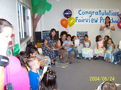 half an orb, Lance's preschool graduation