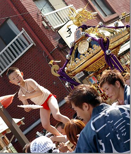 Hongo Mikawa-Inari Shrine Summer Festival 03
