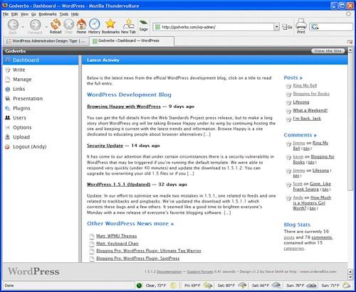 A New WordPress Admin Design