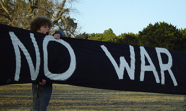 Protest: No War in Iraq
