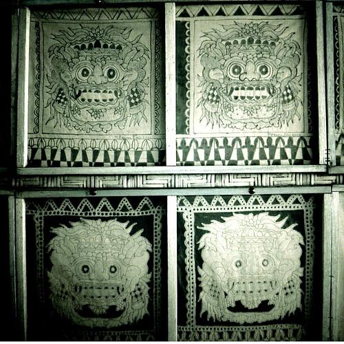 Batik faces