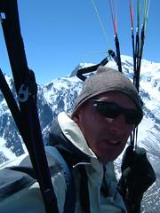 In Flight - Mont Blanc