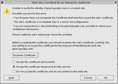 gmail SSL Certificate problem? | by vrypan