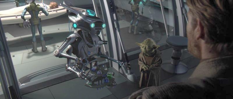 Yoda in the hospital