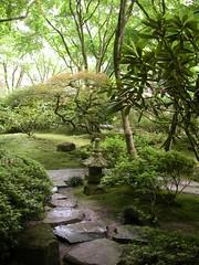Japanese Garden. Portland, Oregon