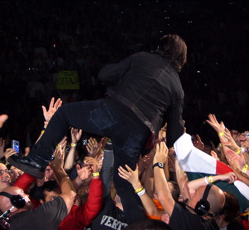 Bono Goes into the Crowd | by iChris
