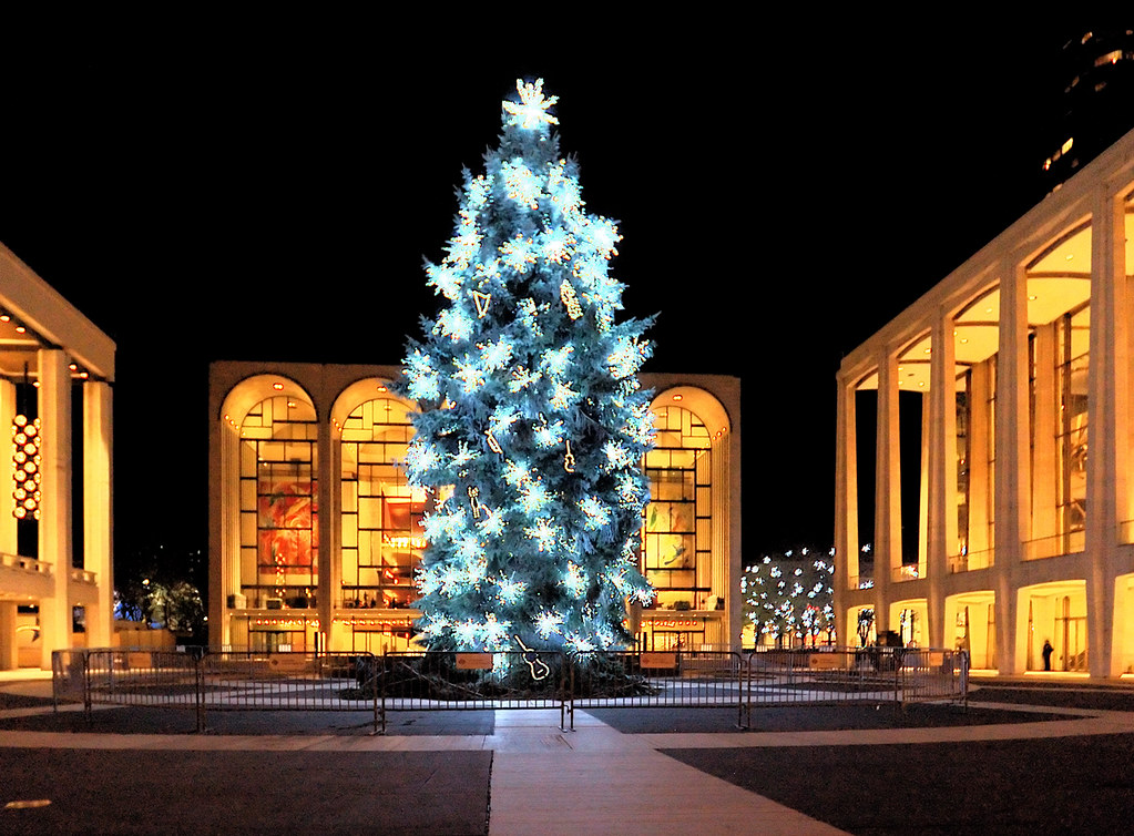 Lincoln Center Christmas Tree 2005