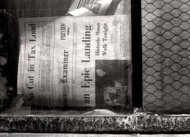 window  detail, Howard Street, San Francisco