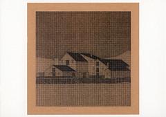 croxcard 20 johan de wilde (1995) zonder titel<br /> inkt op papier 61x61 cm /uitverkocht/